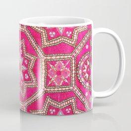 Pskent Suzani Uzbekistan Embroidery Print Coffee Mug