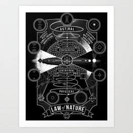 The Law of Nature Art Print
