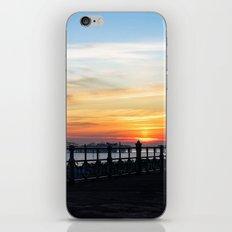 Quiet sunset iPhone & iPod Skin