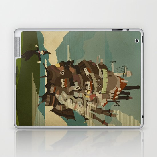 Moving Castle Laptop & iPad Skin