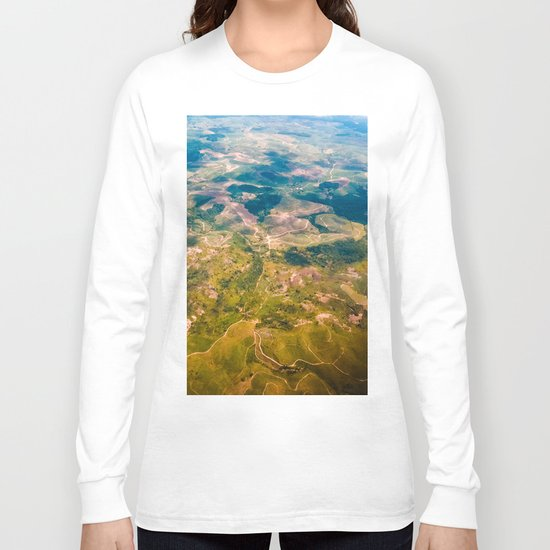 Land from the sky Long Sleeve T-shirt