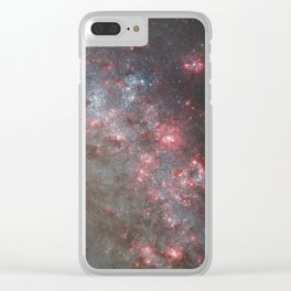The Whirlpool Galaxy Clear iPhone Case