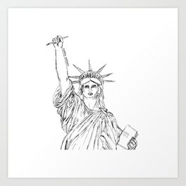 Freedom of Expression Art Print