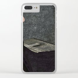 War Stars: May The Force Be Or Not To Be With you Clear iPhone Case