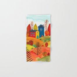 Colorful forest III Hand & Bath Towel
