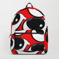 Morning coffee pattern graphic design Backpack
