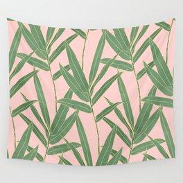 Elegant bamboo foliage design Wall Tapestry