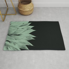 Agave Dark Night Vibes #1 #tropical #decor #art #society6 Rug