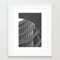 architecture Framed Art Prints featuring Architecture by DuniStudioDesign