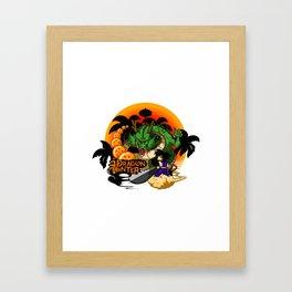 SHENRON Framed Art Print