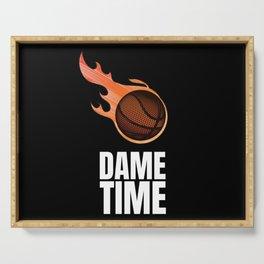 Damian Lillard Dame Time Basketball Serving Tray