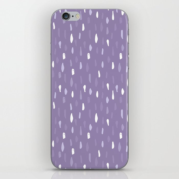 Stains Abstract Ultraviolet iPhone Skin