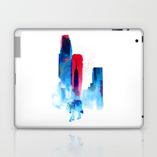 The wolf of the City Laptop & iPad Skin