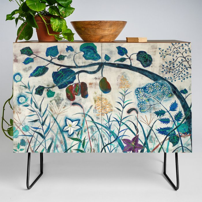 natureJapanese_painting__Credenza_by_merry__Black__Walnut