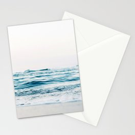 Sea water blue 8 Stationery Cards