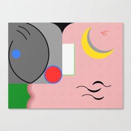 Nice to Meet You! Canvas Print