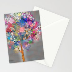 Floral abstract(56) Stationery Cards