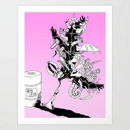Toxic Art Print
