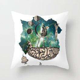 Subjective Reality Throw Pillow
