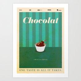 Chocolat Art Print