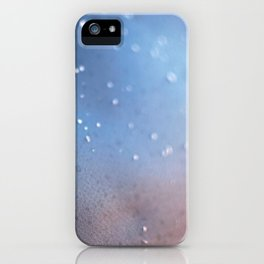 Frozen Blue iPhone Case