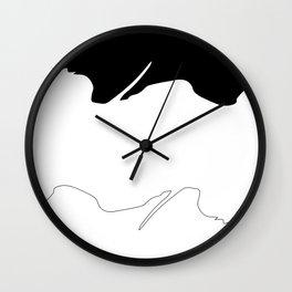 It's not a mountain Wall Clock