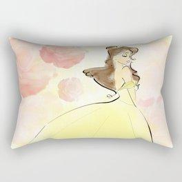 Belle: Beauty. Rectangular Pillow