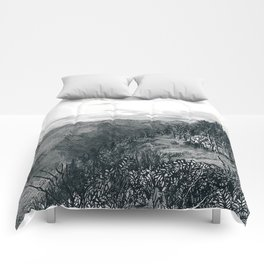 I Want to See Mountains Comforters