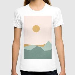 Minimal Line Scape I T-shirt
