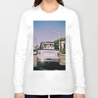 jeep Long Sleeve T-shirts featuring Jeep by Warren Silveira + Stay Rustic