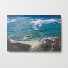 Surfer meets Sea - Diamond Head / Oahu / Hawaii Metal Print