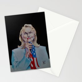 We Let The Vampires In Stationery Cards