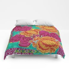 Summer Blooms Comforters
