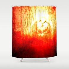 1 Thessalonians 4:17 Shower Curtain