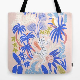Rainforest Leopard Tote Bag