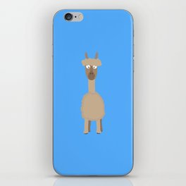 Brown Alpaca   iPhone Skin
