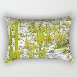 Frosty Tall Ones Rectangular Pillow