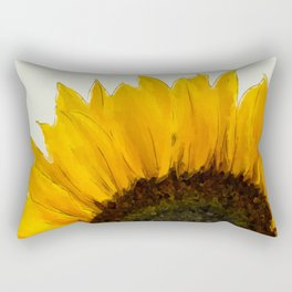 Sunflower - I Rectangular Pillow