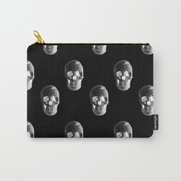 Skulls Pattern Carry-All Pouch