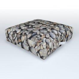 Gravel beach pebbles Outdoor Floor Cushion