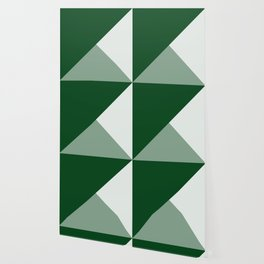 Trinity Color Block Forest Green 08441C Wallpaper