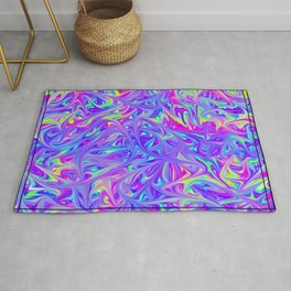 Lost in time and space Rug