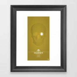 Goldeneye Framed Art Print