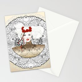 GOLDEN MARCH Stationery Cards