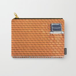 Tiled Roof After Summer Rain Carry-All Pouch