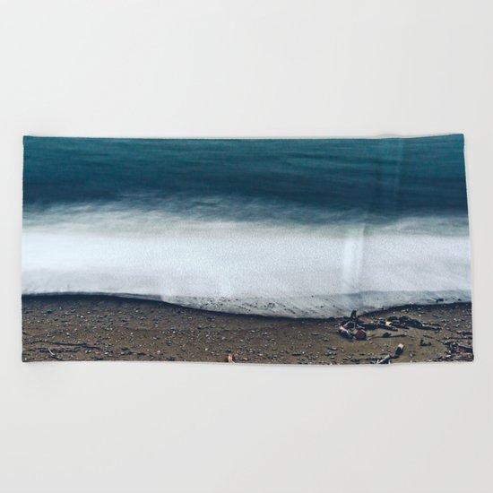 In the Ocean Deep Beach Towel