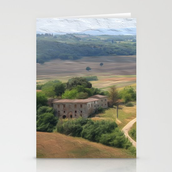 Tuscan Vista Stationery Cards