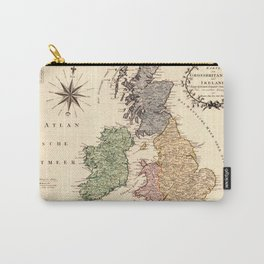 Map Of Great Britain 1795 Carry-All Pouch