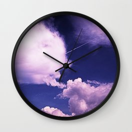 Clouds 17 Wall Clock