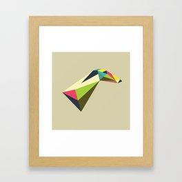saluki Framed Art Print